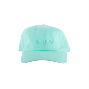 WELCOME SKATEBOARDS 6 PANEL HAT LIGHT BLUE