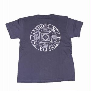 Diaspora LONG LETTER MAGIC CIRCLE T-SHIRTS NAVY