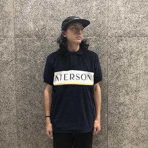 PATERSON LINE WEIGHT POLO NAVY