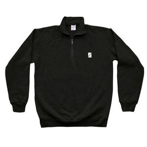 NUMBERS EDITION WORDMARK QUARTER-ZIP BLACK