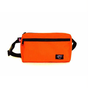 COMA BRAND CANVAS HIPBAG ORANGE