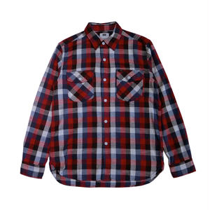 LEE   WORK SHIRTS WHITE/RED