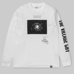 CARHARTT WIP L/S TVC SPACE T-SHIRT WHITE