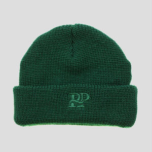 "PASS~PORT ""P~P WORKS"" BEANIE FOREST GREEN"