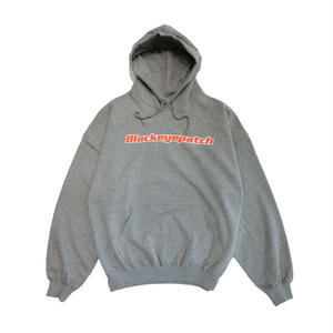 BLACK EYE PATCH LOGO HOODIE GREY