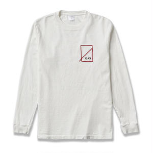NUMBERS EDITION LOADED DICE  L/S T-SHIRT WHITE