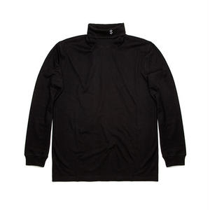OCTAGON LONG SLEEVE TURTLENECK BLACK