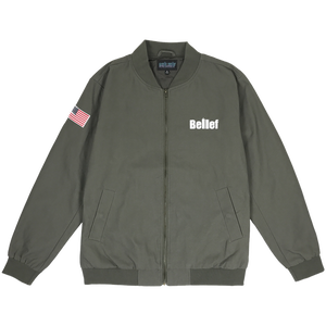 BELIEF WORLD TRADE JACKET OLIVE