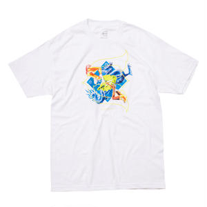 EVISEN SKATEBOARDS KILL PILL TEE WHITE