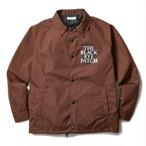 BLACK EYE PATCH COACHES JACKET BROWN