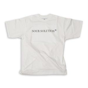 SOUR  SOLUTION TSHIRTS WHITE