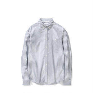 NORSE PROJECTS ANTON OXFORD SHIRTS  DARK NAVY WIDE STRIPE