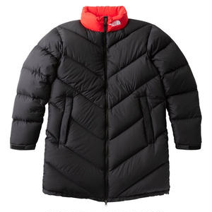 THE NORTH FACE ASCENT COAT BLACK/RED