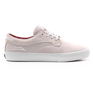 LAKAI X INDEPENDENT RILEY HAWK WHITE SUEDE