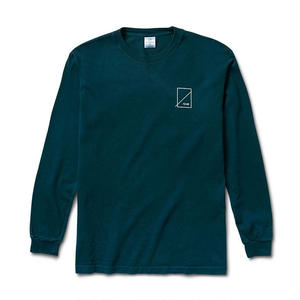 NUMBERS EDITION WOODMARK L/S T SHIRT FOREST PINE