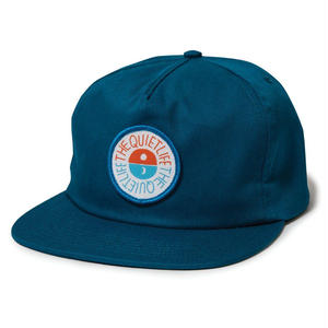 THE QUIET LIFE SOLAR RELAXED SNAPBACK HAT BLUE JAY