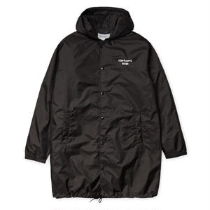 CARHARTT WIP HOODED ASTRA COACH JACKET BLACK