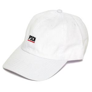 PSCN UNDER LINE LOGO CAP WHITE