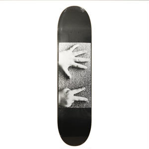 ISLE SKATEBOARDS COUNT AND SEE DECK BLACK 8.125