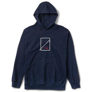 Numbers Edition EDITION SYMBOL HOODED JERSEY PULLOVER NAVY
