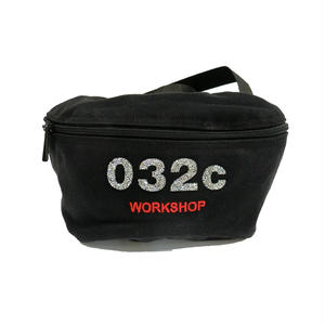 032C CRYSTAL HIPBAG BLACK