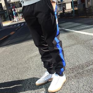 PSCN SWITCH NYLON PANTS BLACK