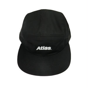 ATLAS LOGO 5PANEL CAP BLACK