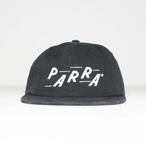 BY PARRA RACING 6PANEL HAT BLACK