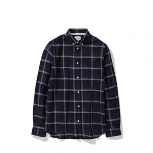 NORSE PROJECTS ANTON CHECK SHIRTS NAVY