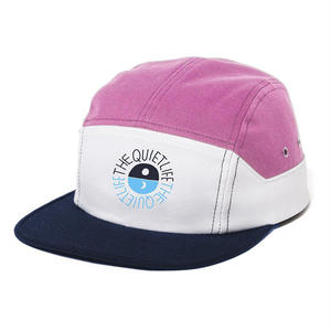 THE QUIET LIFE SOLAR 7 PANEL HAT PINK/WHITE/NAVY