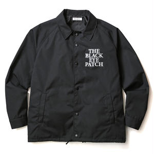 BLACK EYE PATCH COACHES JACKET BLACK