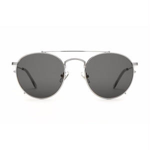 CRAP EYEWEAR THE TUFF SAFARI BRUSHED SILVER