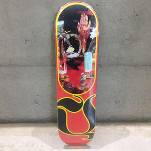 QUASI SKATEBOARDS CHAKRA DECK RED  8.0inch