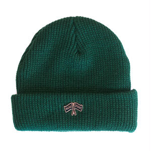 "PASS~PORT ""PP FLAGS"" PIN BEANIE FOREST"