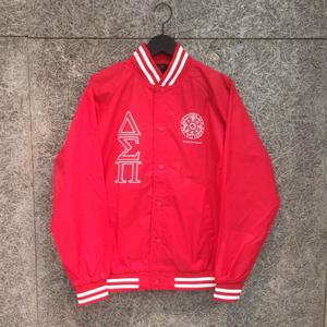 Diaspora Skateboards STADIUM JACKET RED