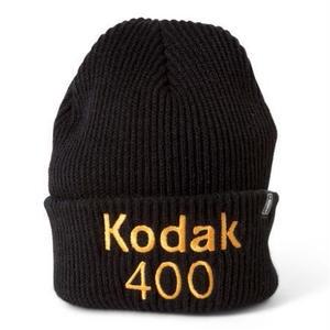 GIRL SKATEBOARDS X KODAK 400 CUFF BEANIE BLACK