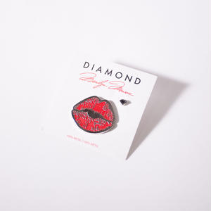 DIAMOND X MARILYN MONROE LIPS 2 PIECE SET