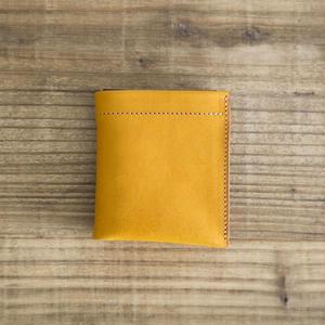Dew-001 二つ折財布 黄色
