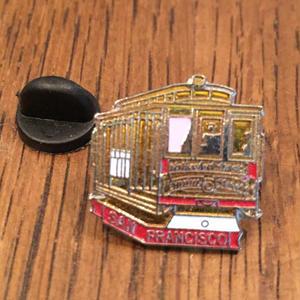 SAN FRANCISCO Train Pins