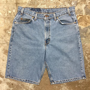 90's Levi's 550 Denim Shorts W : 34