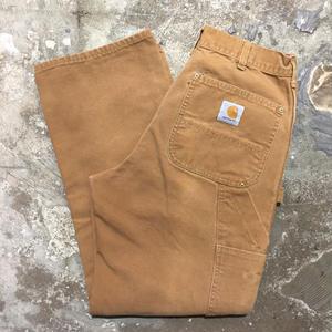 80's~ Carhartt Double Knee Painter Pants BROWN  W : 31