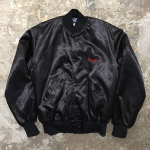 80's Holloway Horse Nylon Varsity Jacket