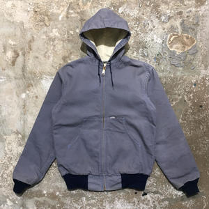80's Carhartt Thermal Lined Active Jacket GLAY NAVY