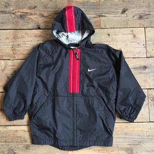 90's NIKE Nylon Hooded Jacket