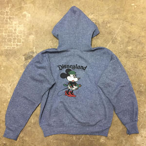 80's Minnie Mouse Zip Hoodie
