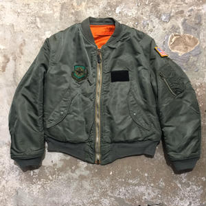 70's ALPHA INDUSTRIES INC. MA-1 Flight Jacket