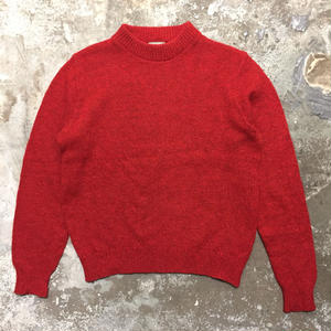 80's L.L.Bean Wool Sweater RED