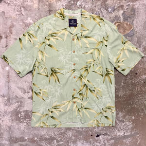JAMAICA JAXX Silk Open Collar Shirt