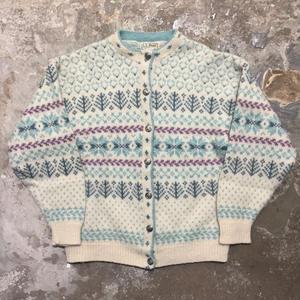 80's L.L.Bean Nordic Cardigan