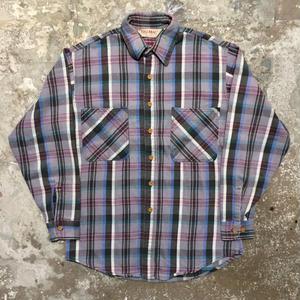 90's BIG MAC Heavy Flannel Shirt GRAY